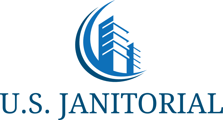 transparent stacked u.s. janitorial services logo