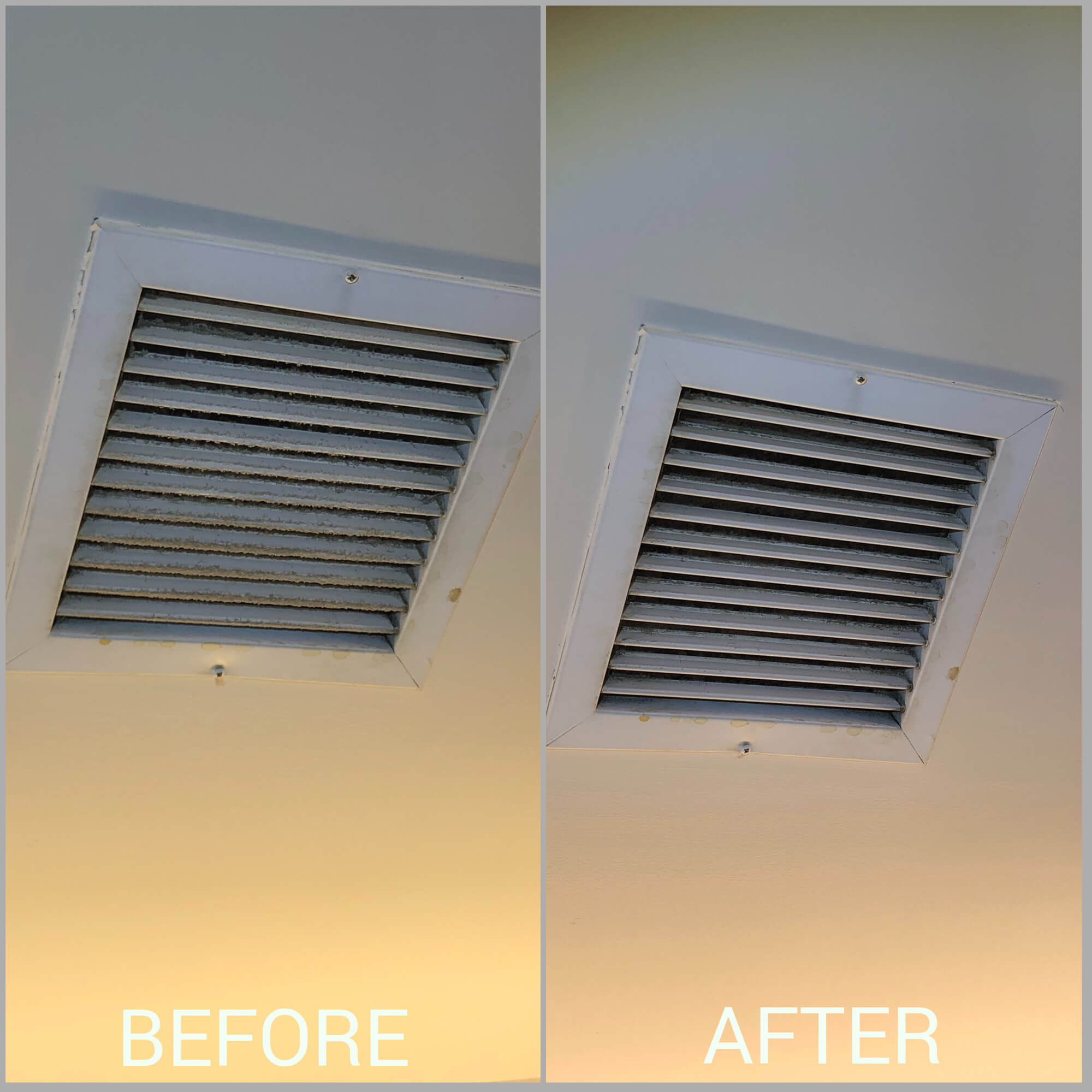 restaurant vent cleaning before after