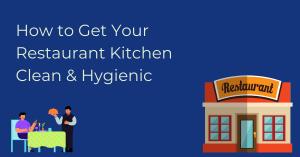 tips to keep tidy restaurant kitchen